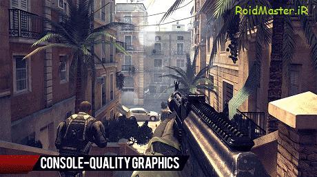 دانلود Modern Combat 4: Zero Hour بازی مدرن کامبت 4 برای اندروید