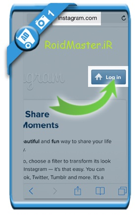 آموزش تصویری حذف اکانت اینستاگرام از روی گوشی اندروید