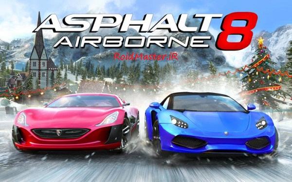 دانلود Asphalt 8 Airborne بازی آسفالت 8 +مود+دیتا برای اندروید