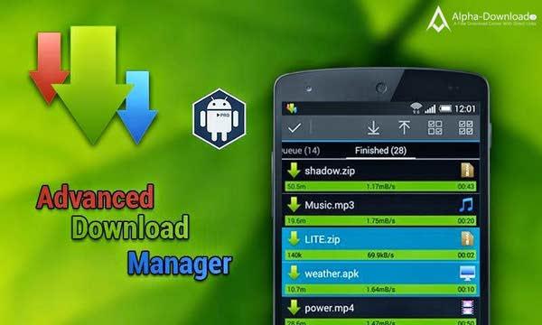 دانلود Advanced Download Manager Pro 5.1.1 برنامه دانلود منیجر حرفه ای اندروید