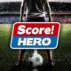 دانلودذبازی فوتبال سبک جدید اندروید Score! Hero 1.25 + مود
