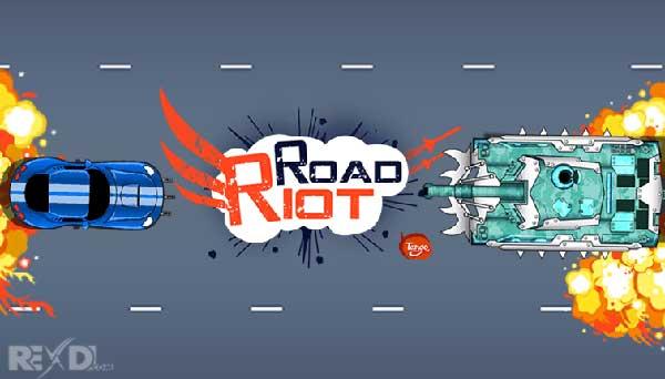دانولد نسخه هک شده Road Riot Hack با پول بینهایت