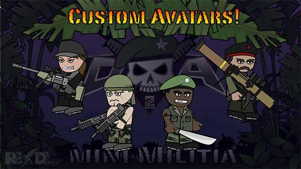 Doodle Army 2 Mini Militia Hack mod
