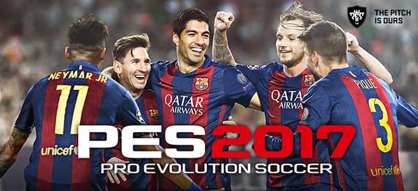 دانلود Pro Evolution Soccer 2017 0.1.0 بازی PES 2017 برای اندروید