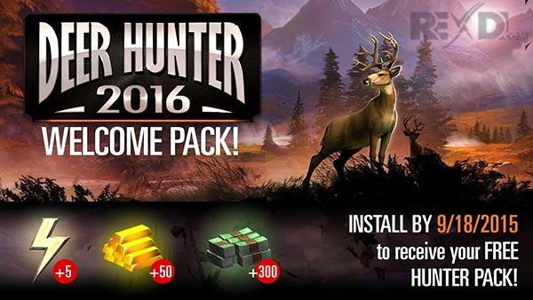 دانلود نسخه مود شده بازی Deer Hunter 2016 برای اندروید