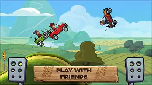 دانلود نسخه مود شده بازی Hill Climb Racing 2 برای اندروید