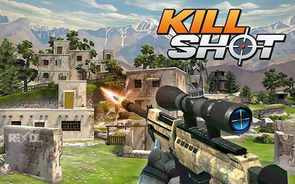 دانلود نسخه مود شده بازی Kill Shot برای اندروید