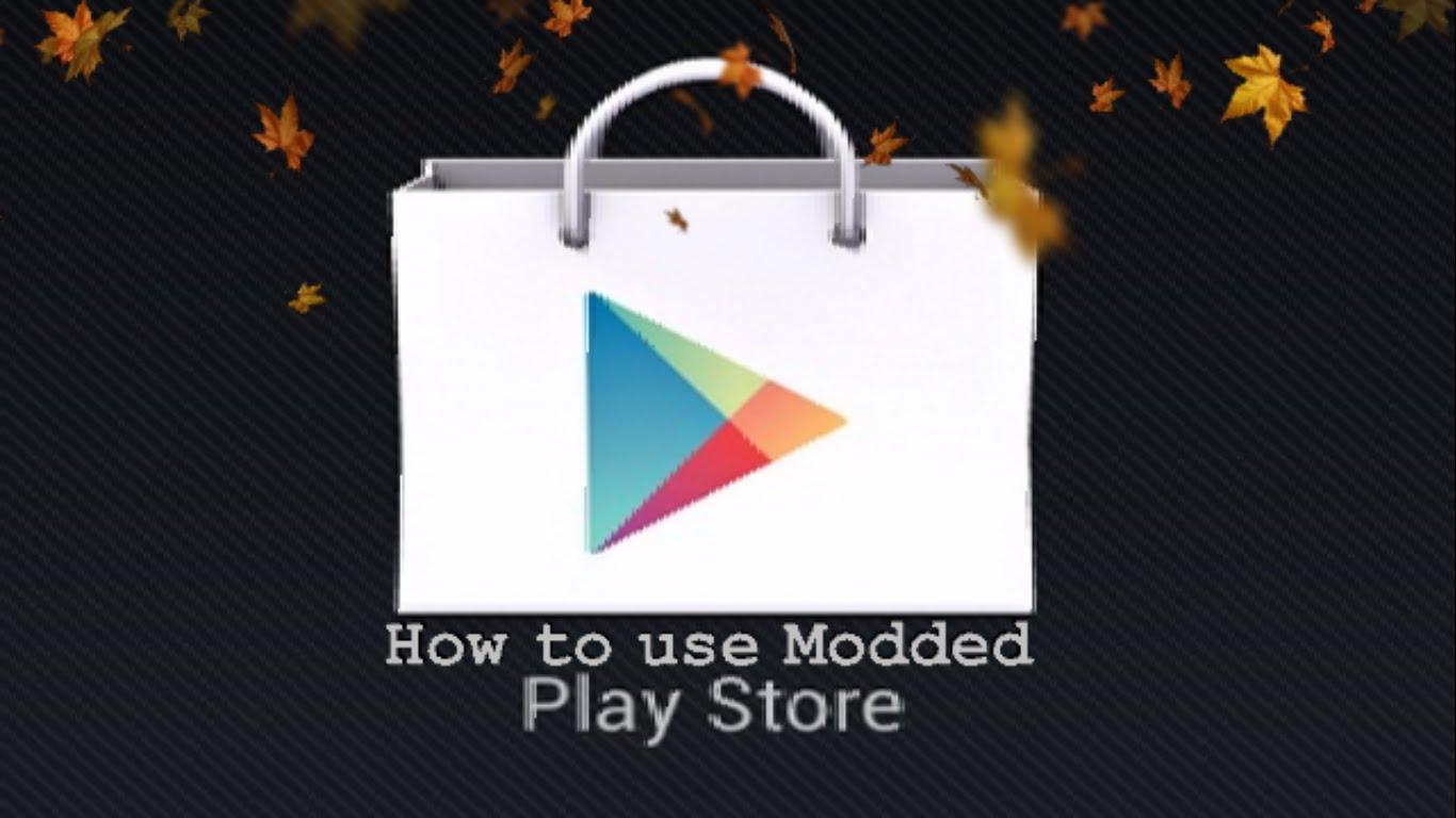 دانلود نسخه مود شده Google Play Store برنامه مارکت اندروید