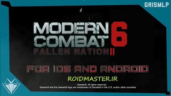 دانلود Modern Combat 6 بازی مدرن کامبت 6 برای اندروید + دیتا