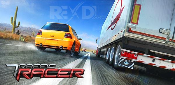 دانلود نسخه مود شده بازی Traffic Racer برای اندروید