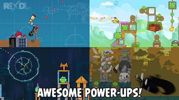 دانلود نسخه مود شده و آنلاک بازی Angry Birds برای اندروید