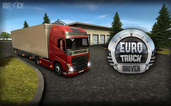 دانلود نسخه مود شده بازی Euro Truck Driver اندروید + نسخه معمولی