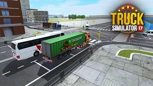 دانلود Truck Simulator 2017 با شبیه سازی رانندگی تریلی + مود