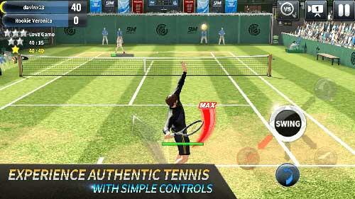 دانلود Ultimate Tennis بهترین بازی مسابقات تنیس بینهایت اندروید