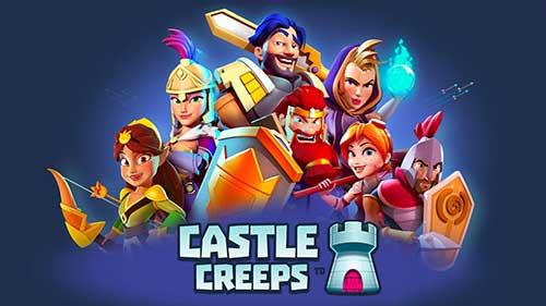 دانلود نسخه مود شده بازی Castle Creeps TD با پول بینهایت