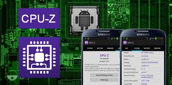 دانلود CPU-Z برنامه نمایش مشخصات سخت افزاری گوشی اندروید