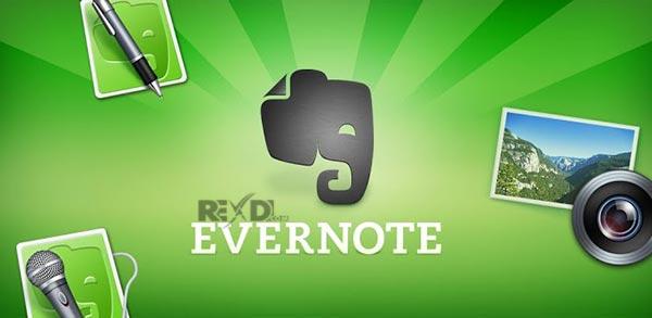 دانلود Evernote Premium Unlocked برنامه یادداشت برداری اندروید