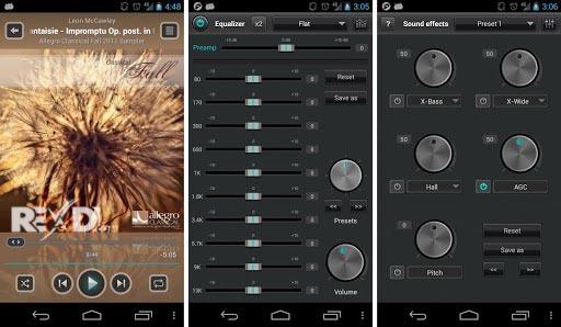 دانلود نسخه کرک شده jetAudio Music Player+EQ Plus جت آدیو اندروید