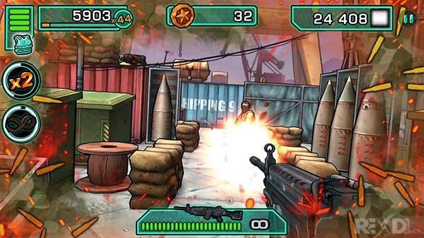دانلود نسخه مود شده بازی Major GUN با پول و جان بینهایت