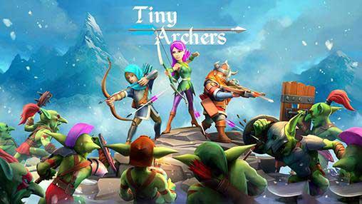 دانلود نسخه مود شده بازی Tiny Archers با سکه و الماس بینهایت