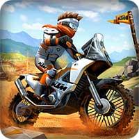 دانلود نسخه مود شده بازی Trials Frontier 6.2.2 با پول بینهایت