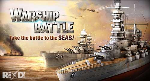دانلود نسخه مود شده بازی WARSHIP BATTLE 3D World War II با خرید رایگان