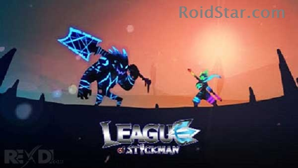 دانلود نسخه مود شده بازی League of Stickman با خرید رایگان