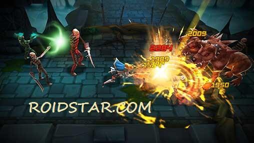 دانلود نسخه مود شده بازی Blade Warrior با طلای بینهایت