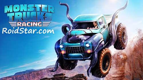 دانلود نسخه مود شده بازی Monster Truck Racing با منابع بینهایت