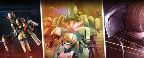 دانلود نسخه هک شده و بینهایت شده بازی Clash Of Robots برای اندروید