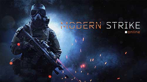 دانلود نسخه هک شده بازی Modern Strike Online برای اندروید