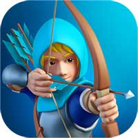 دانلود نسخه مود شده بازی Tiny Archers 1.33.05.0 با سکه و الماس بینهایت